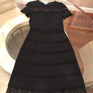 Dresses & Skirts - Established 1962 Black Knit Dress. Excellent Cond.